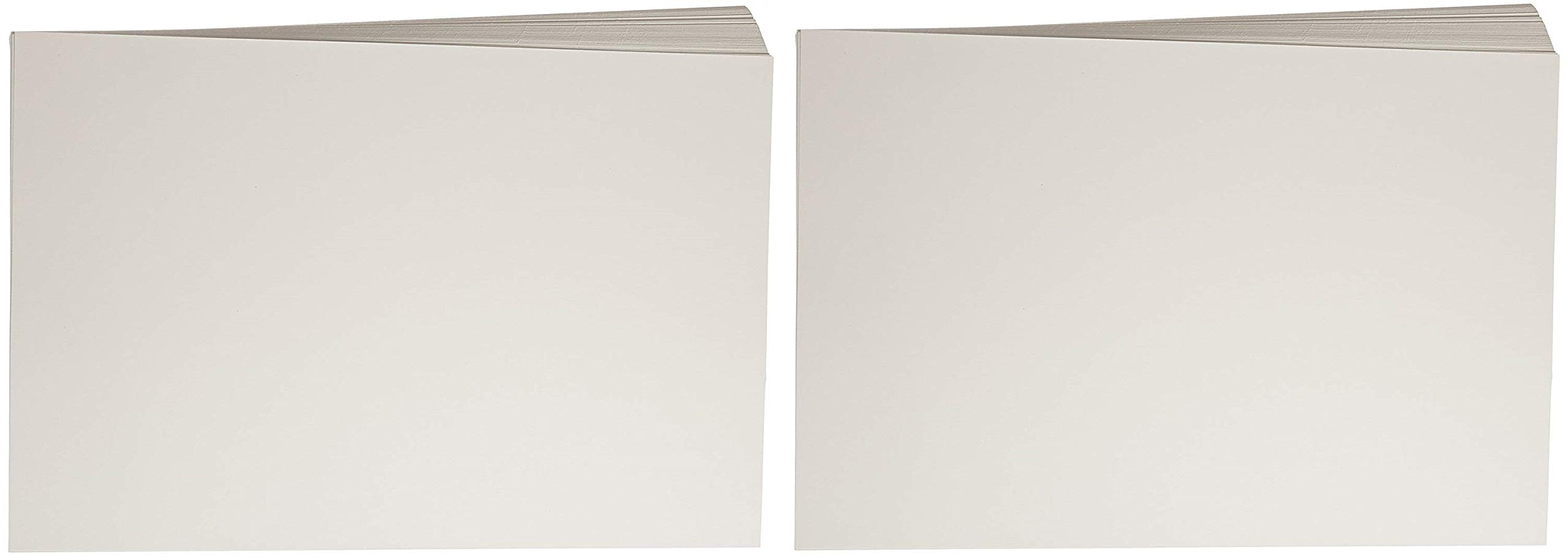 Sax Beginner Watercolor Paper, 12 x 18 Inches, 90 lb, Natural White, 100 Sheets (2 X 100 Sheets)