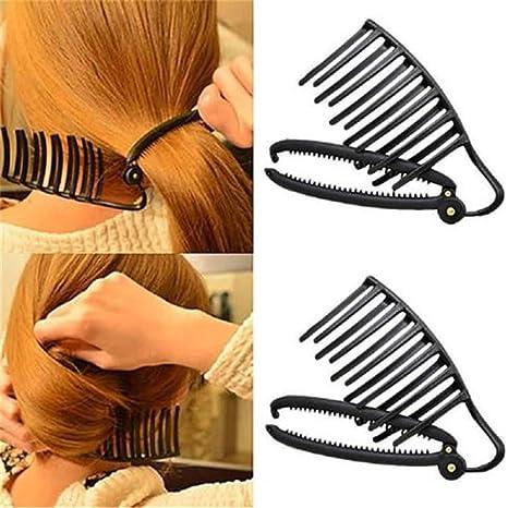 Jomsk Haar Clip Styling Werkzeuge Büro Dame Schnell Geflochtene Moderne Stilvolle Frisur Haarschmuck Für Frauen