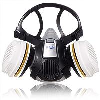Dräger X-plore® 3300 Schilderset/Tuinbouwset halfgelaatsmasker met twee herbruikbare A2 P3 filters voor verfspuiten en…