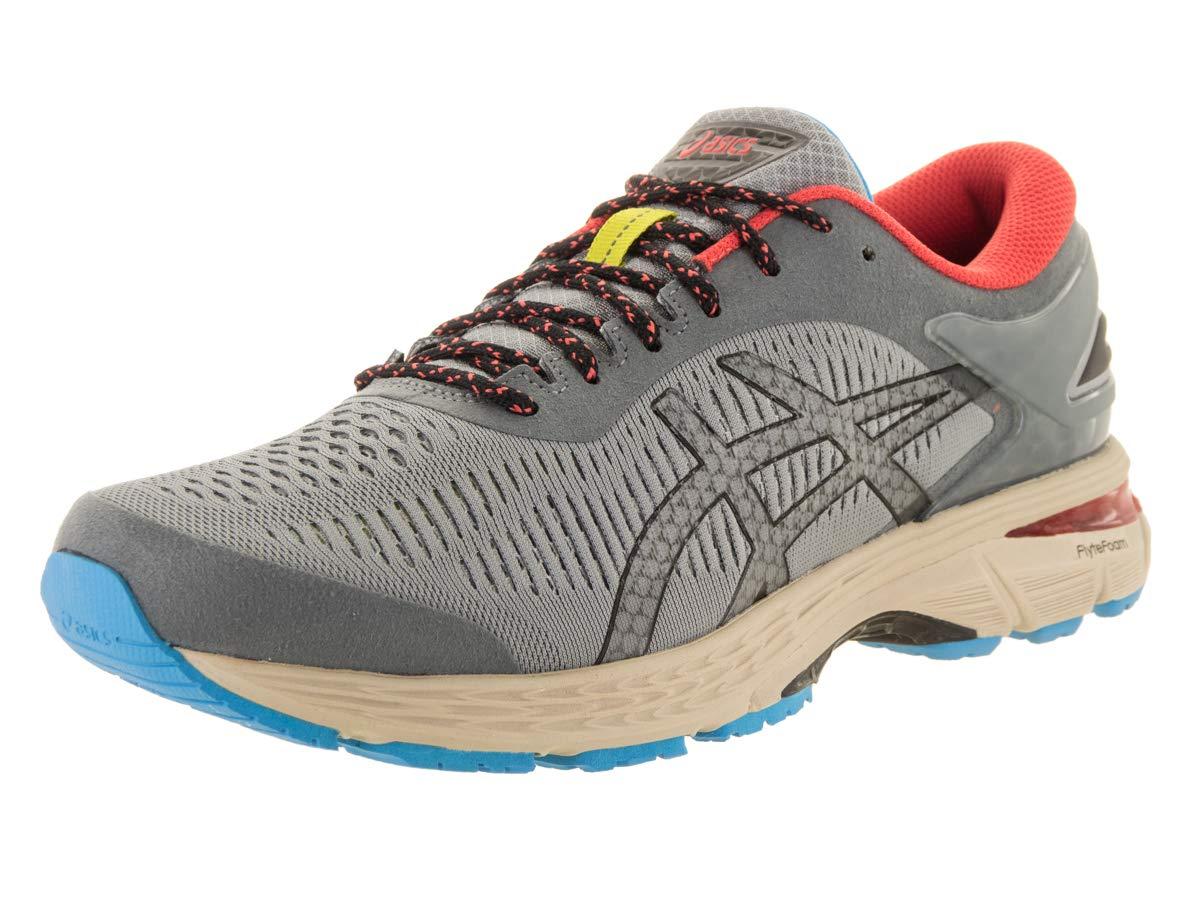 Stone Grey Black 7 US ASICS GelKayano 25 Men's Running shoes