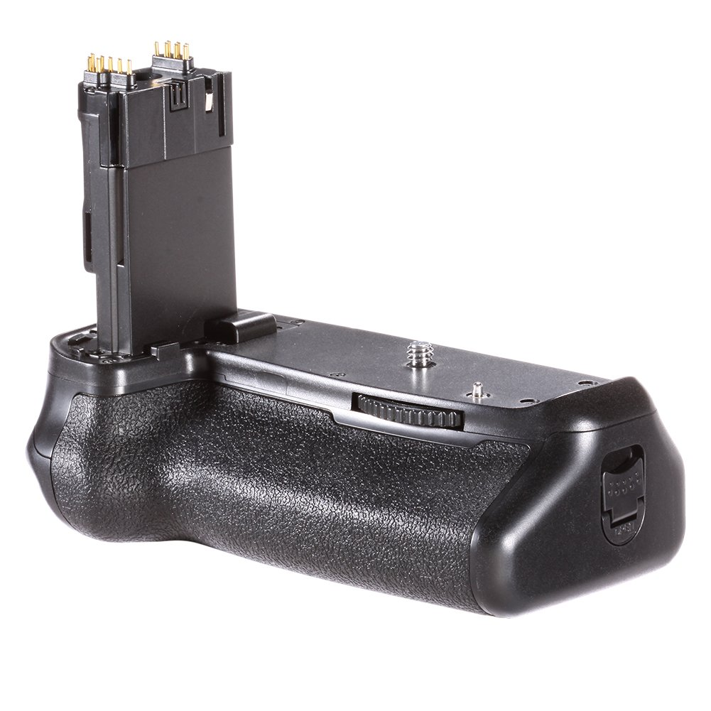 Neewer Battery Grip Holder (Replacement for BG-E14) Work with LP-E6 Battery or 6 Pieces AA Batteries for Canon EOS 70D 80D DSLR Camera by Neewer