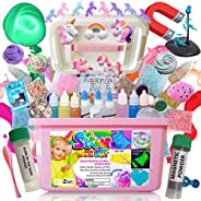 Ultimate Unicorn Slime Kit for Girls - Perfect Toys Gifts for 7 8 9 10 11 12 Year Old Girls Birthday - Best Va