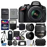 Nikon D3200 24.2 MP CMOS Digital SLR Camera (Black) 18-55mm...