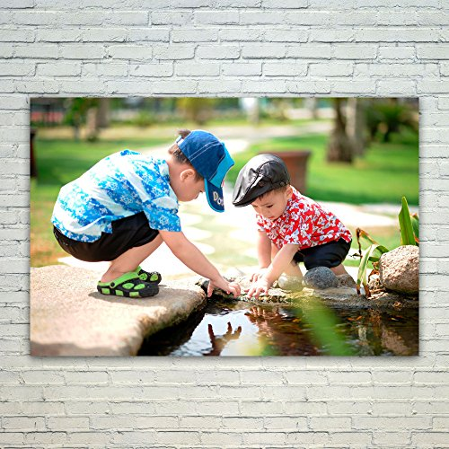 Westlake Art Poster Print Wall Art - People Water - Modern P
