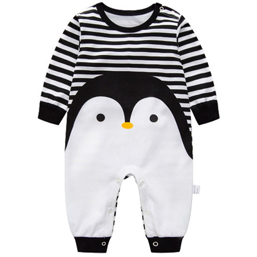 affdd92c6 Minizone Recién Nacido Pijama Bebés Algodón Mameluco Niñas Niños Peleles  Sleepsuit Caricatura Trajes A160603TZ034D