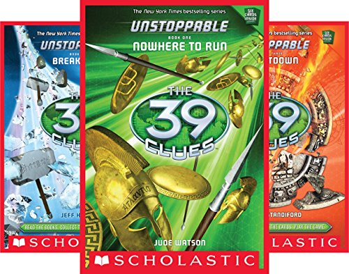 39 clues unstoppable book 4 - 8