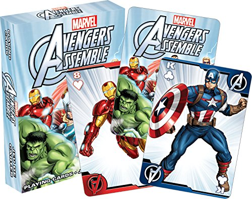 Aquarius Avengers Assemble Youth Playing Cards