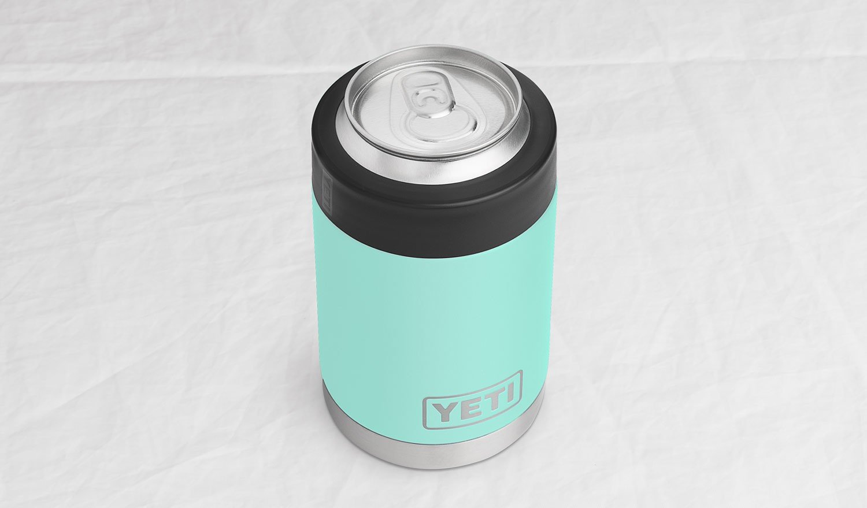 YETI Rambler Vacuum Insulated Stainless Steel Colster, Seafoam DuraCoat