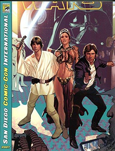 sdcc-souvenir-book-for-2007-nm-star-wars-hans-solo-san-diego-comic-con