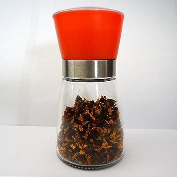 Molinillo de sal y pimienta, favolook Multicolor ajustable de grano Wearproof – Molinillo de especias