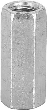 10pcs Tuerca de varilla larga Tuercas de acoplamiento hexagonales Tuerca de manga hexagonal Separador M8 Sujetadores roscados M8*30