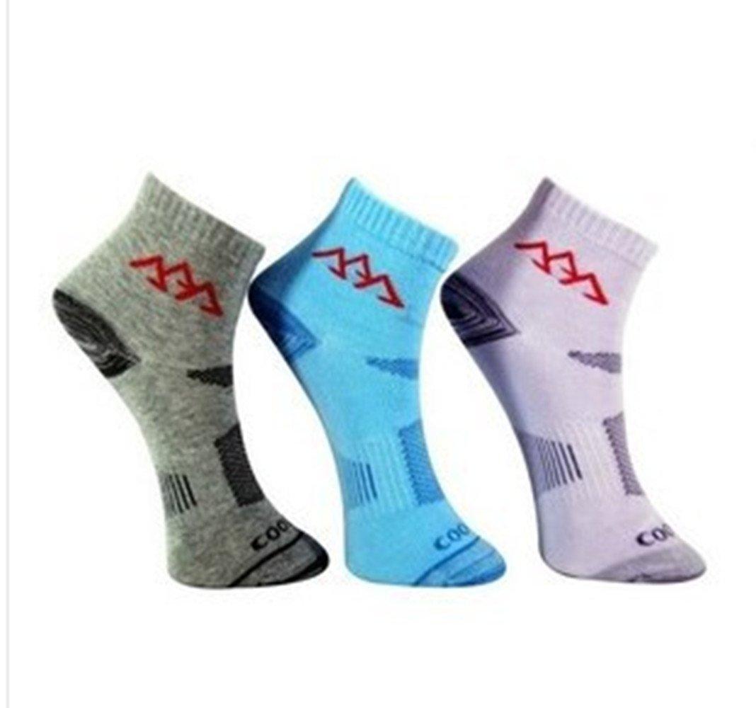 Noga Coolmax Women 3-pack Outdoor Mountaineering Socks Sports Socks Absorb Moisture Permeability Low Socks