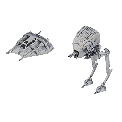 Bandai Star Wars AT-ST Snowspeeder Plastic Model: Toys & Games