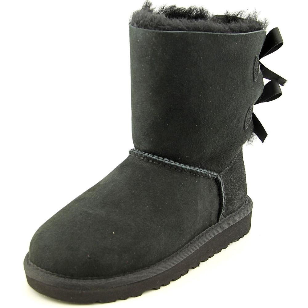 UGG Australia Kid's Bailey Bow Boots (Size: 3M/Black) by UGG