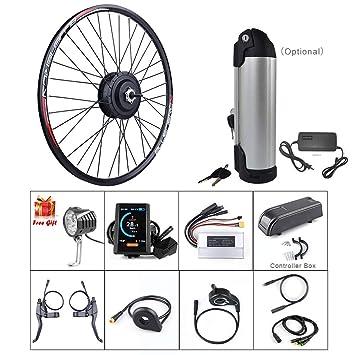 GigaByke 26 Inch 36v 250w Commuter 7-Speed Rear Wheel Electric Bike Conversion K