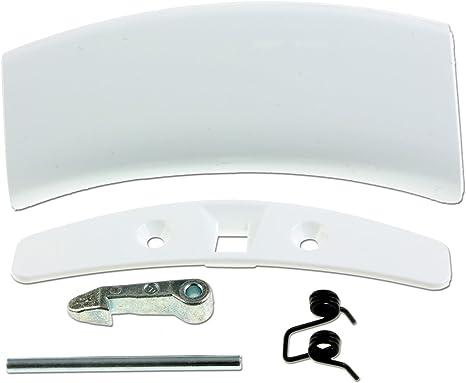 Kit de la manija de puerta lavadora Zanussi: Amazon.es: Grandes ...