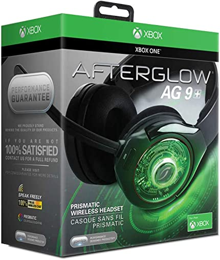 Amazon.com: PDP Afterglow AG 9 Wireless Headset for Xbox One ...