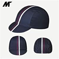 56cbe569f895a Mysenlan Men s Outdoors Sports Cycling Cap Bike Skull Breathable Sun Caps  Riding Hat for Men