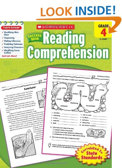 Workbook free high school reading comprehension worksheets : The Scholastic: Amazon.com