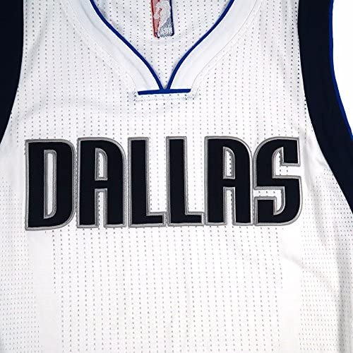 adidas Dallas Mavericks NBA Blanc NBA Authentique on Court