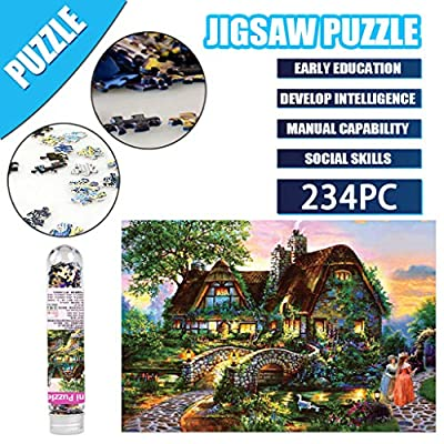 Kanku 234 Piece Adults Reduce Pressure Puzzle - Interesting Pictures Puzzle Toys Personalized Gift (B): Jewelry