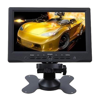 Monitor LCD portátil Minidiva de 7 pulgadas HD 1080P HDMI AV VGA ...