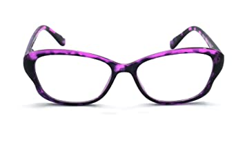 c64755734c Image Unavailable. Image not available for. Color  Eye-Zoom Cat Eye  Tortoise Color Frame Women Reading Glasses ...