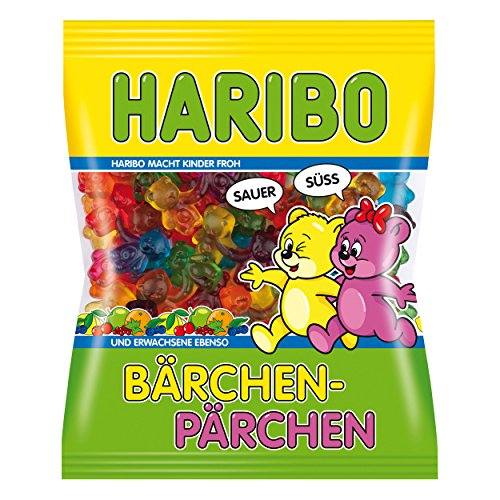 Haribo Baerchen Paerchen Sour and Sweet 6.17oz - NEW 2014