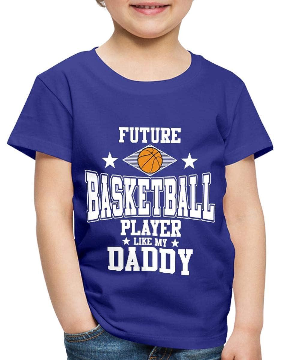 Spreadshirt Future Basketball Player Toddler Premium T-Shirt