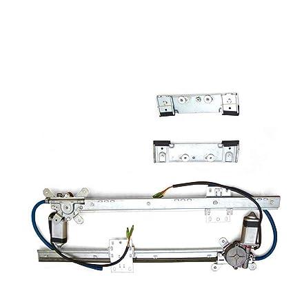 amazon com: autoloc power accessories autoloc-eb165015 1949-61 desoto power  window kit door panel bosch motors restomod auto glass 12v: automotive