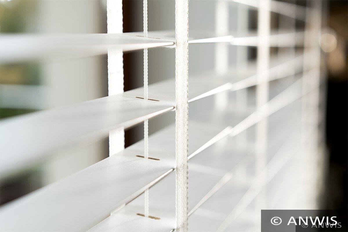 SUNWORLD Holzjalousie nach Maß, Maß, Maß, Jalousie, Rollo, Echtholz, Lammelle 50mm, Holzrollo, Maßarbeit (210cm (H) x 100cm (B), Weiß) B07BSGP161 Rollos & Jalousien f2a479