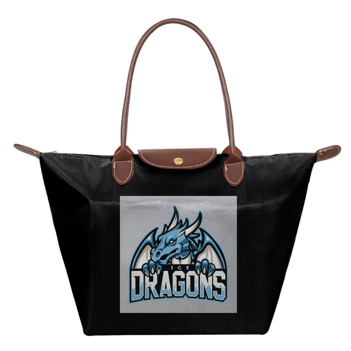Ice Dragons Nights King Game Of Thrones Waterproof Leather Folded Messenger Nylon Bag Travel Tote Hopping Folding School Handbags