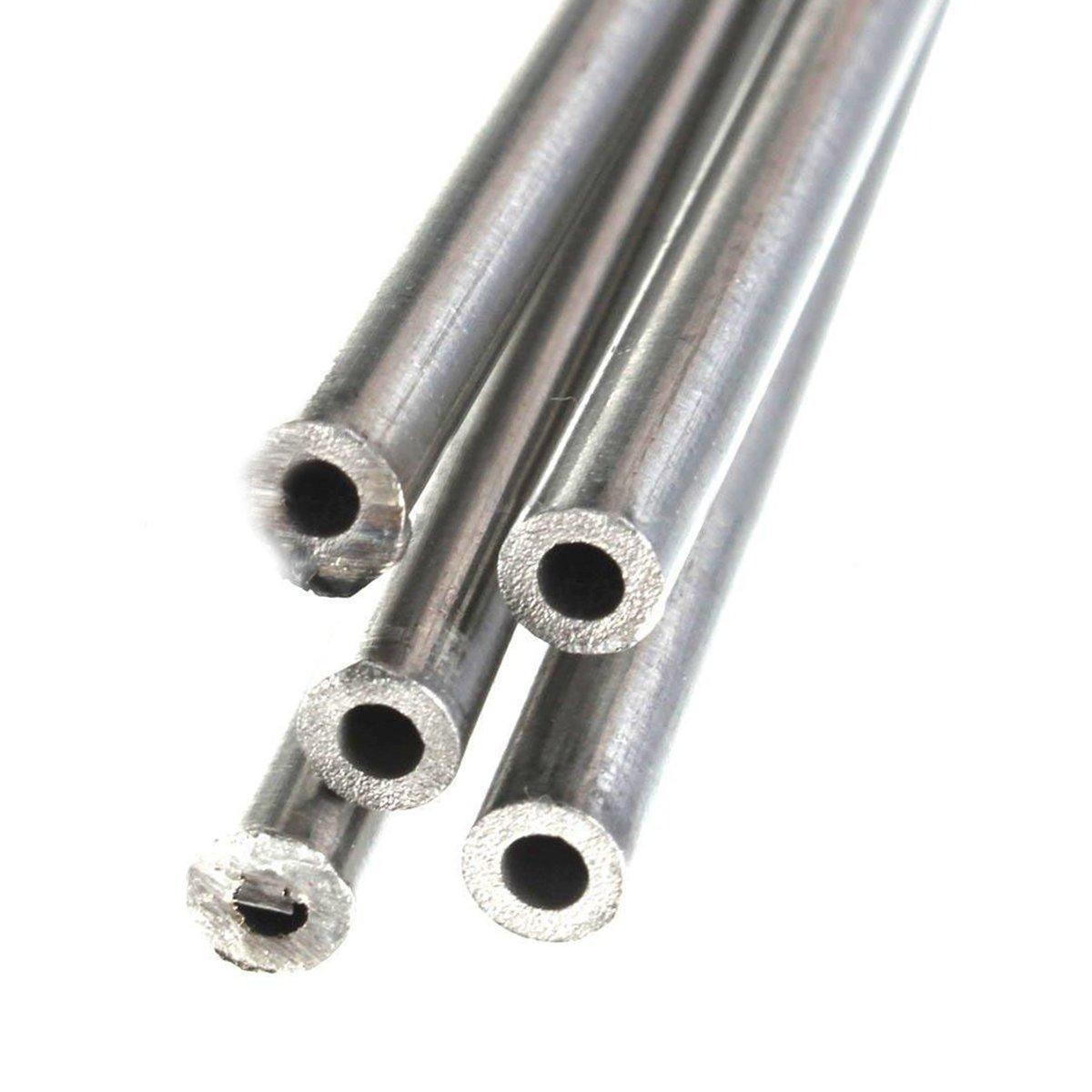 5 x 304 Acero Inoxidable Tubo Capilar Dd 3mm Id 2mm Longitud 250mm