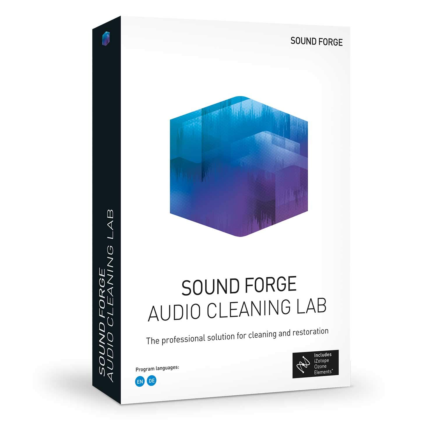 Sound Forge Audio Cleaning Lab - the Specialist Tool