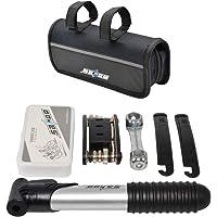 YL TRD Multifuncional Kit de Herramientas para Bicicleta Kit de Reparación de Bicicletas con Bicicleta Bomba Y Herramienta de reparación de neumáticos