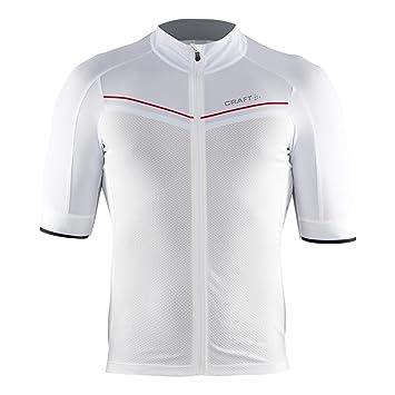 dadaa8010 Craft Aero Tech Men s Cycling Jersey 2900 White Size 8   XXL  Amazon ...