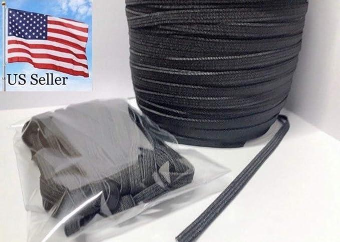 10 yards Black Elastic//Spandex Mini Scallop Edge Lace 9mm Trim//Band//Sewing T192