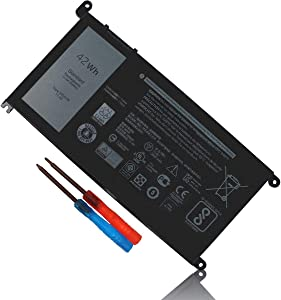 WDX0R Laptop Battery Compatible with Dell Inspiron 13 5368 5378 5379 7368 7378 Inspiron 14-7460 Inspiron 15 5565 5567 5568 5578 7560 7570 7579 7569 P58F Inspiron 17 5765 5767 FC92N 3CRH3 T2JX4 CYMGM