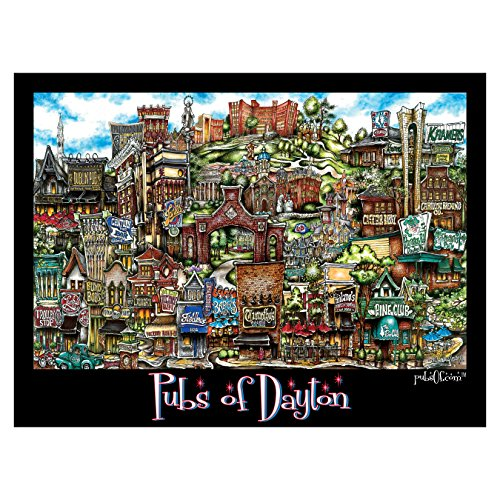 pubsOf Dayton Oh Poster