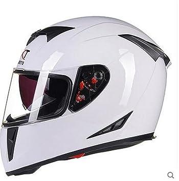Off-Roady Casco de Moto Casco de Moto Modular con Visera Interior Casco de Seguridad