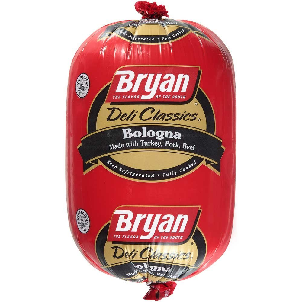 Bryan Deli Classic Bologna, 4.65 Pound -- 2 per case.