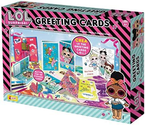 Lisciani Giochi – 75898 Juego para niños LOL Surprise Greeting Cards: Amazon.es: Juguetes y juegos