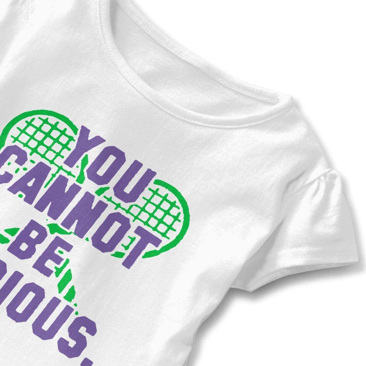 SC/_VD08 Wimbledon Tennis Kids Children Crew Neck Tshirts Top/&Tee