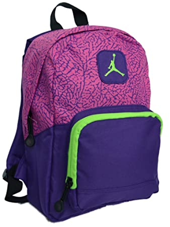 Nike Air Jordan Small Backpack Bag in Pink b954d6e83cc94