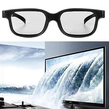 aibii polarizadas pasivo 3d gafas negro H3 para TV Real D 3d cines NUEVA