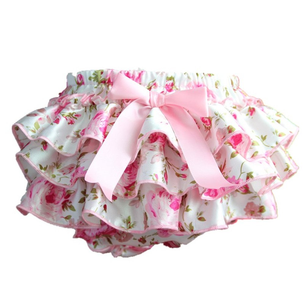 Per Comfortable Baby Diaper Cover Baby Shorts Diaper Nappy Cover Pants With Lovely Printing Patterns For 0-3 Years Old Girls
