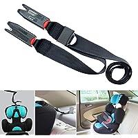 Adjustable Baby Child Car Seat Strap Holder Vehicle Isofix Safety Belt Anchor
