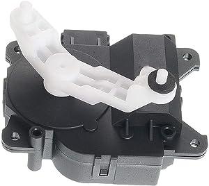 HVAC Heater Blend Door Actuator Fits for 03-07 HONDA ACCORD EX V6 3.0L, w/Dual Zone Climate Control, Left Main Temperature, Replaces OEM 79160-SDA-A41 604-880