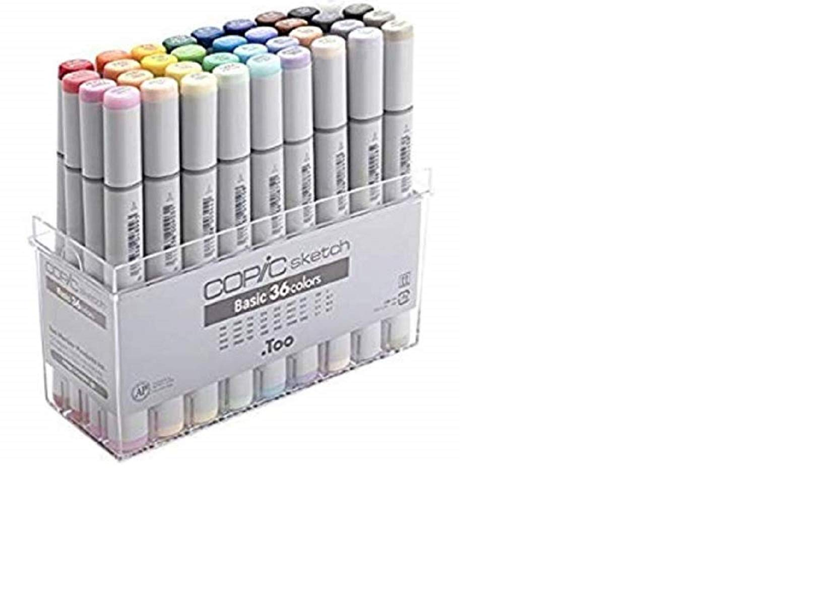 Copic Sketch Marker 36 Piece Sketch Basic Set by Copic