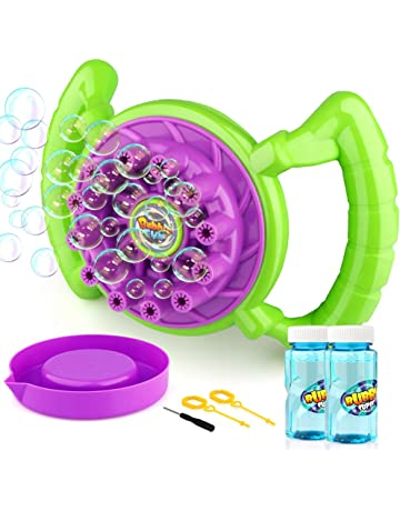 Outdoor Fun & Sports Toys & Hobbies Hearty Electric Bubble Machine Fan Blower Kids Playing Outdoor Bubble-making Toys